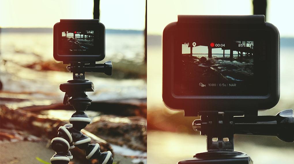 2n Premi del Jurat al Millor Curtmetratge: una càmera de vídeo
